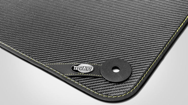 New: TECHART Carbon Fiber Floor Mats